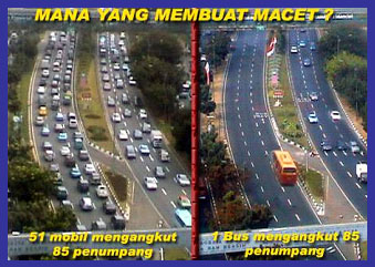 Which one is causing congestion?