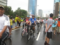"Car Free day Events ""Jakarta Bersepeda"""