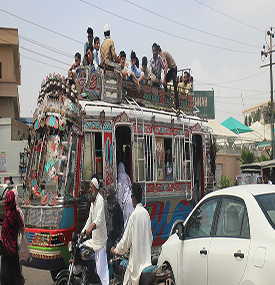 Addressing Congestion on the Streets of Karachi