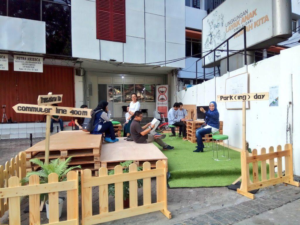 [Press Release] Park(ing) Day: Mengubah Ruang Parkir Menjadi Ruang Publik untuk Keamanan dan Kenyamanan Pejalan Kaki.