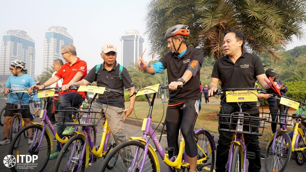 Akhirnya, Ada Bikeshare di Jakarta!