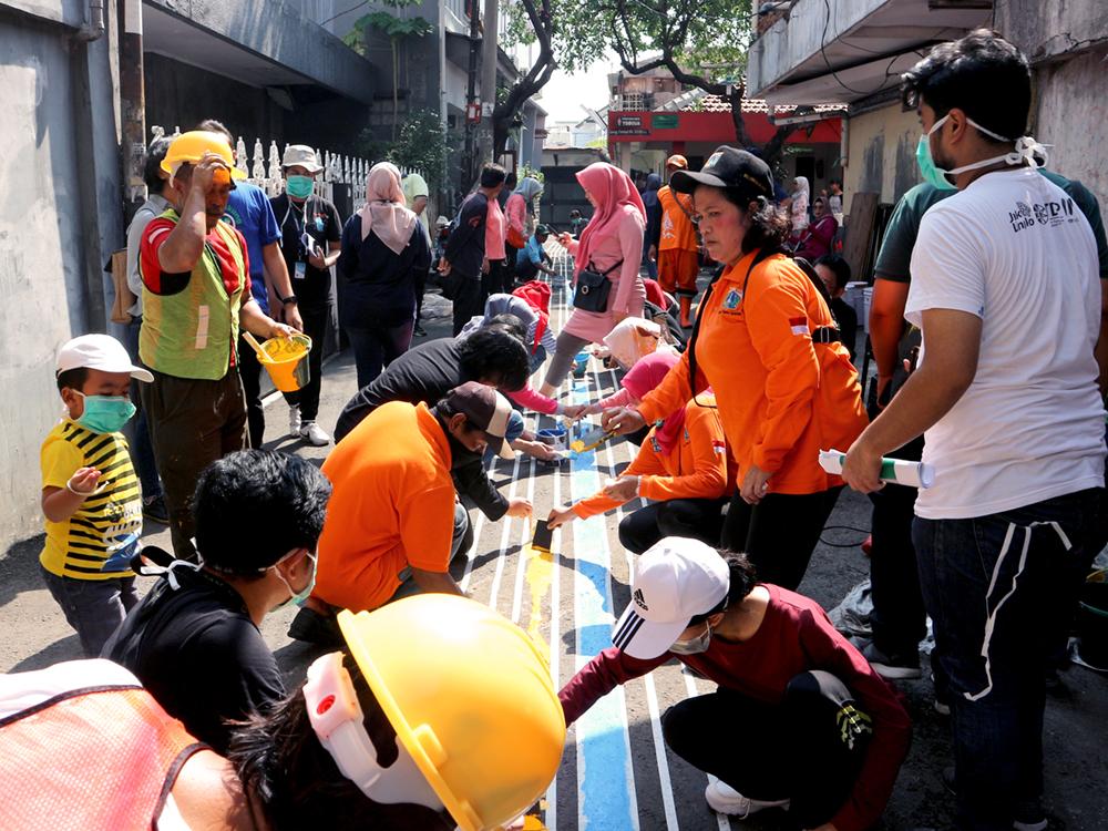 #JalanJakarta 2: Pentingnya Penunjuk Arah di Sekitar Stasiun Transportasi Publik